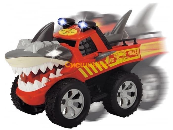 Машинка Dickie Toys Бешеная акула со светом и звуком (3765005) - 2