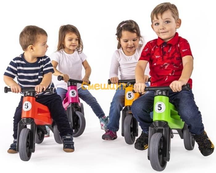 Беговел Funny Wheels Rider Sport оранжевый (FWRS03) - 1
