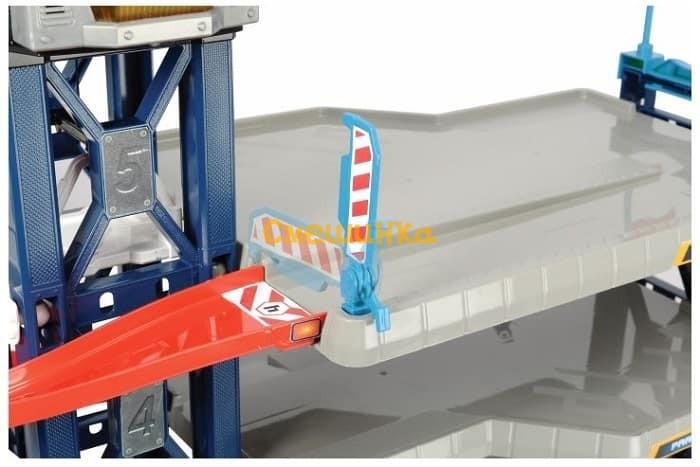 Игровой набор Dickie Toys Паркинг четырехэтажный с автомобилями и вертолетом (3749008) - 4