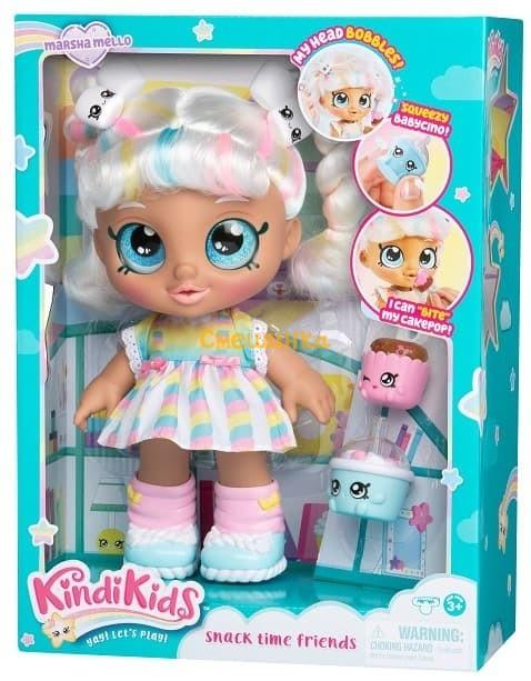 Кукла Moose Kindi Kids Марша Меллоу Snack Time Friend (50009) - 1