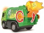 Мусоровоз Dickie Toys Хэппи Скания с контейнером со светом и звуком 25 см (3814015) - 3