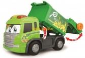 Мусоровоз Dickie Toys Хэппи Скания с контейнером со светом и звуком 25 см (3814015) - 2