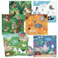 Игра-пазл Монтессори Headu Животные и места их обитания (MU22847) - 1