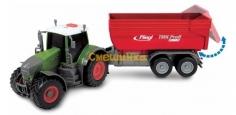 Трактор Dickie Toys Фендт 939 Варио с прицепом со светом и звуком 41 см (3737002) - 2