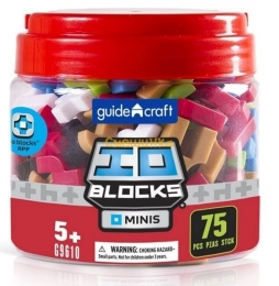 Конструктор Guidecraft IO Blocks Minis 75 деталей (G9610)